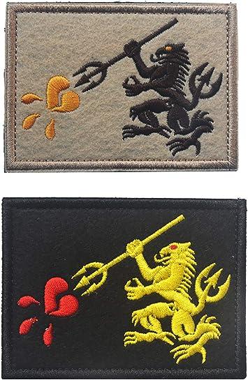 Parche militar táctico de velcro de 2/3/4 piezas, sellos de la ...