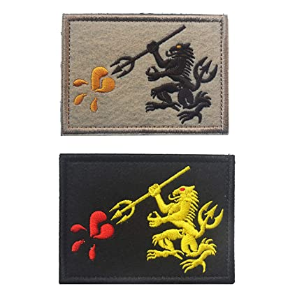 2 3 4 Pieces Tactical Military Velcro Patch NASA Navy Seals Full Embroidery  Emblem fdd5b80d218b