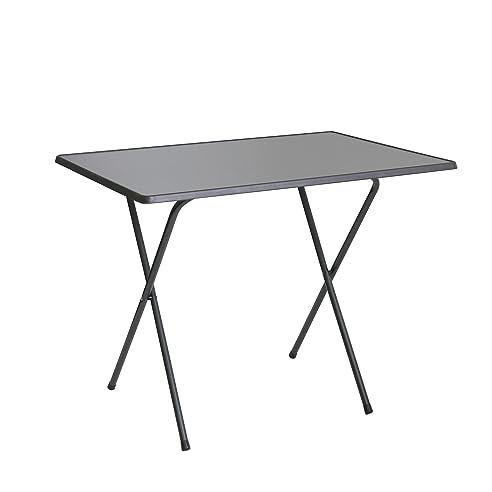 Gartentisch klappbar kunststoff  greemotion Scherentisch in Anthrazit, Gartentisch 60 x 80 cm ...
