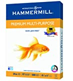 Amazon Price History for:Hammermill Paper, Premium Multi-Purpose Paper Poly Wrap, 24lb, 8.5 x 11, Letter, 97 Bright, 500 Sheets / 1 Ream (105810) Made In The USA