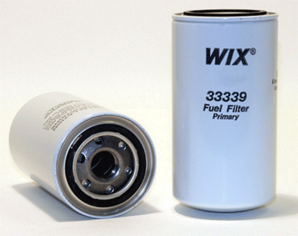 33356 Heavy Duty Spin-On Fuel Filter WIX Filters Pack of 1