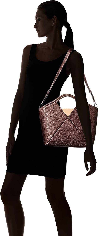 ECCO Damen Work Bag Linnea Arbeitstasche Feige Metallic