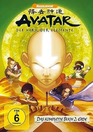 Avatar Der Herr Der Elemente Das Komplette Buch 2 Erde 4 Dvds