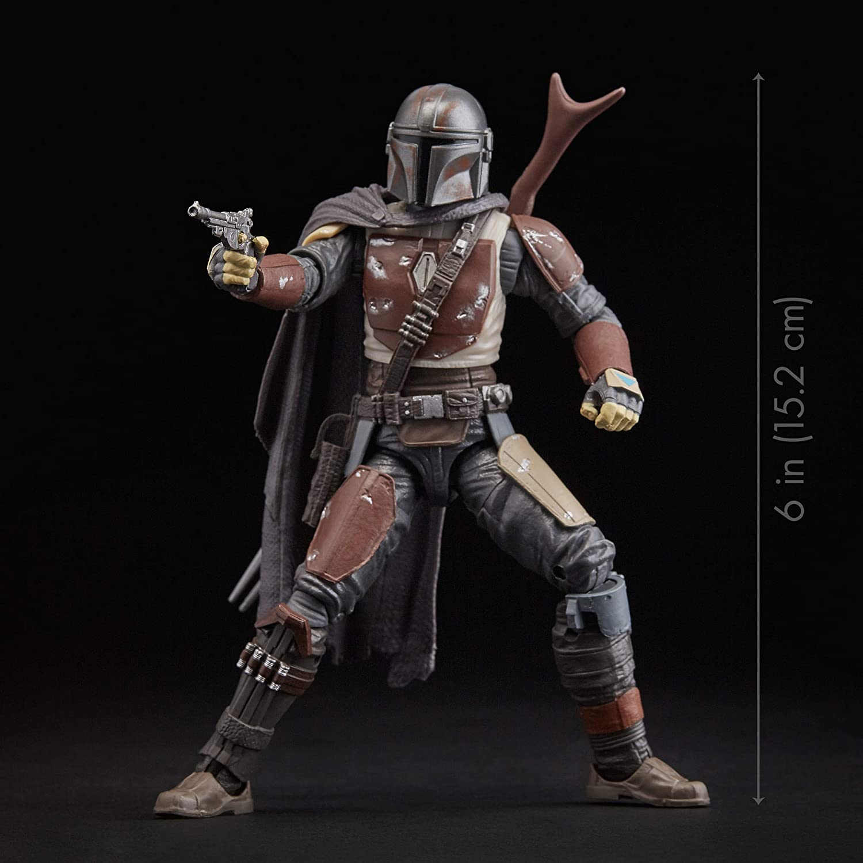 STAR Wars I Mandaloriani beskar Armour Nero Serie 6/' Figura Hasbro 2020 NUOVO!!!