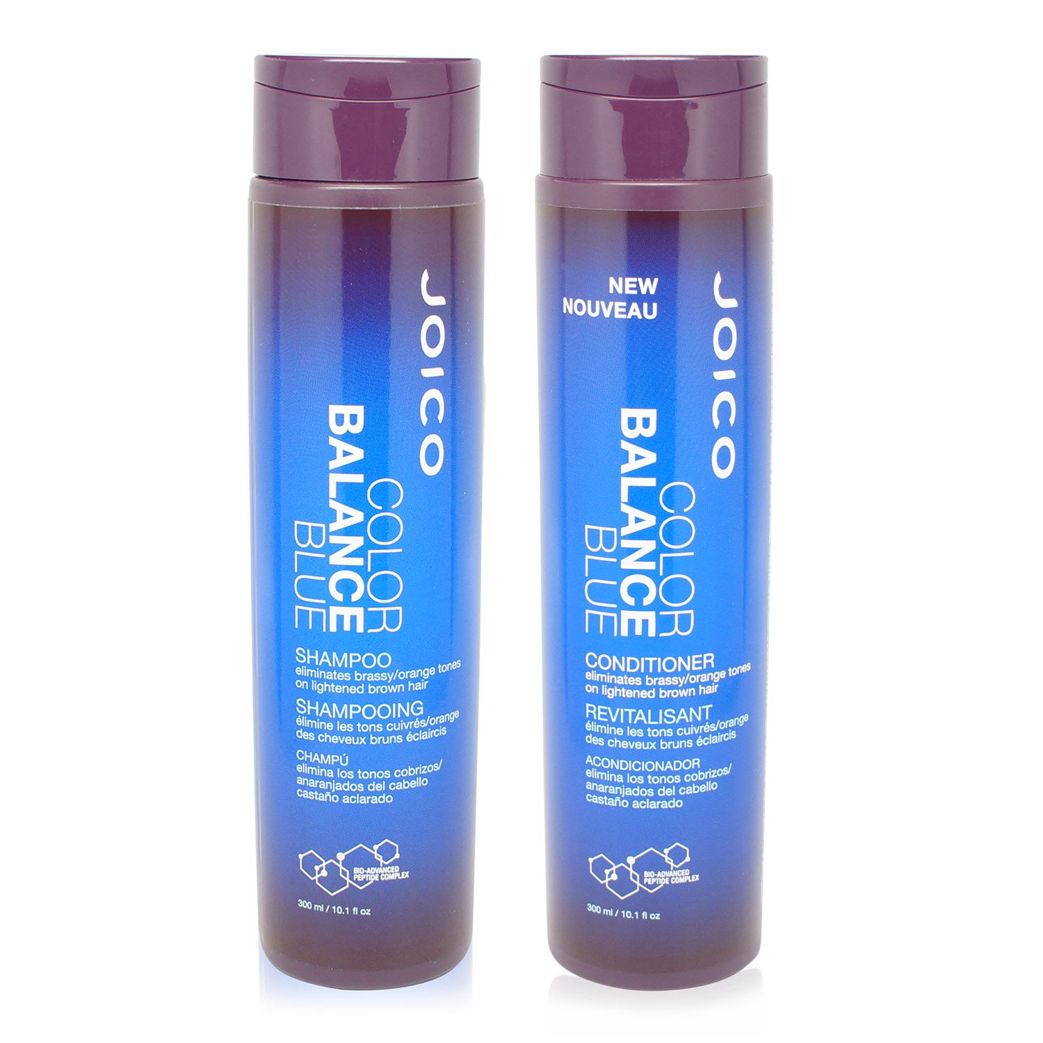 Joico Color Balance Blue Shampoo and Conditioner, 10 oz.