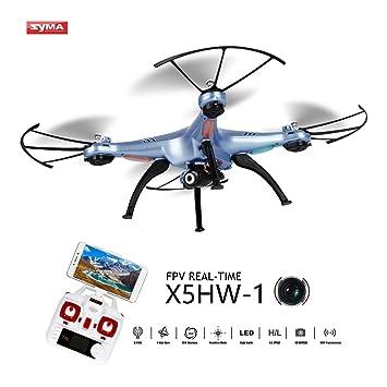 OCDAY Syma X5HW-1 Drone con Cámara HD WiFi FPV Versión Actualizada ...