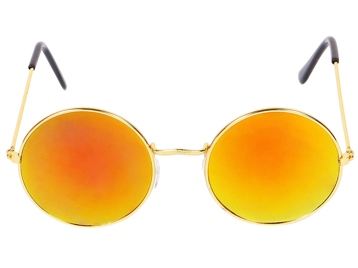 f6bf1ef20d03c YORA Yellow Round Sunglasses  Amazon.in  Clothing   Accessories
