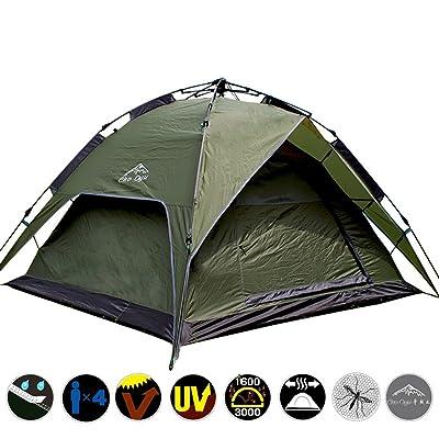 Tente 4 Automatique Randonnée Camping Dos Saisons De Sac À qqvHSrw