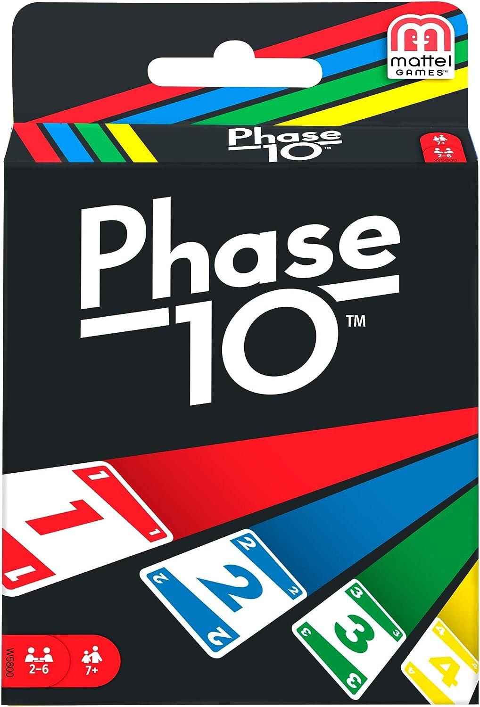 Phase 10 MATW5800 - Juego de Cartas Estilo Rummy: Amazon.es ...