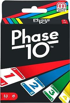 Phase 10 MATW5800 - Juego de Cartas Estilo Rummy: Amazon.es: Juguetes y juegos