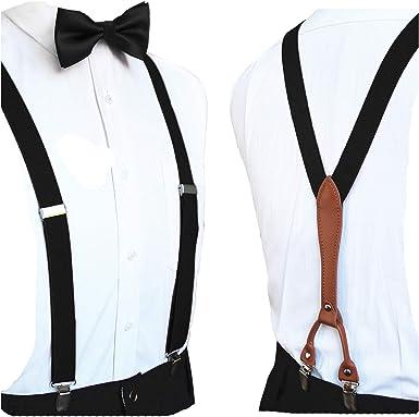 black bowtie black suspenders black suspender men/'s suspenders men suspenders suspenders black set mens suspenders black bowties