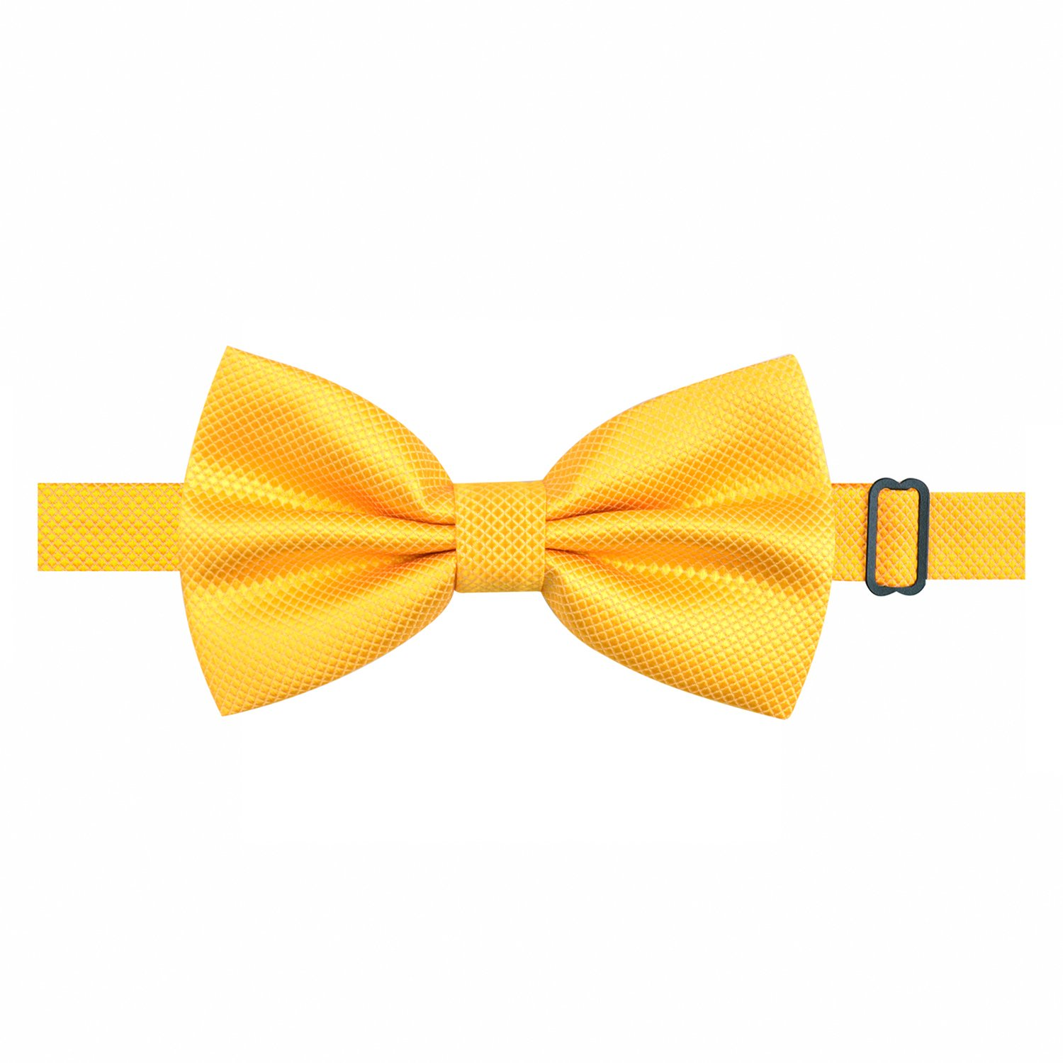 Alizeal Mens Solid Formal Banded Bow Ties Pre-tied