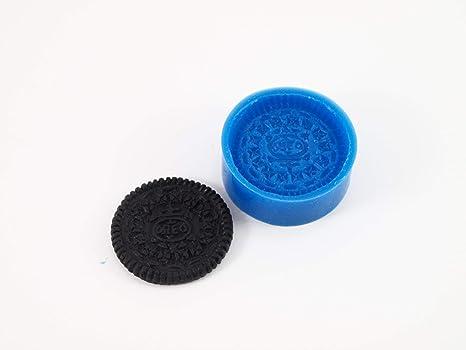 Molde de silicona para Fimo, plastilina, resina o porcelana fría, diseño de galleta
