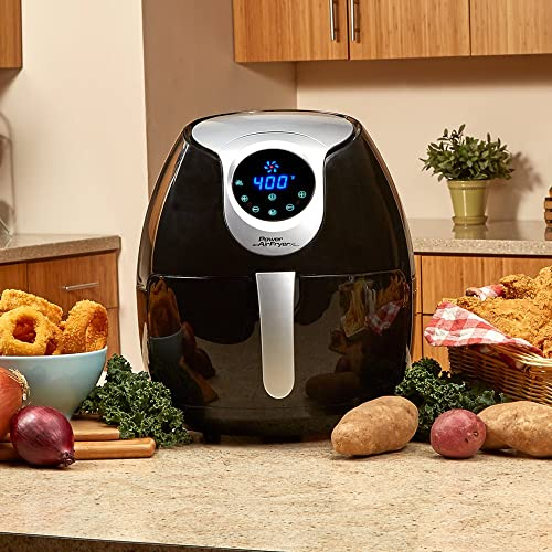 Power Air Fryer XL (5.3 QT Deluxe, Black)