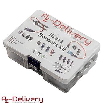 AZDelivery 16 en 1 Kit - Juego de accesorios para Raspberry Pi ...