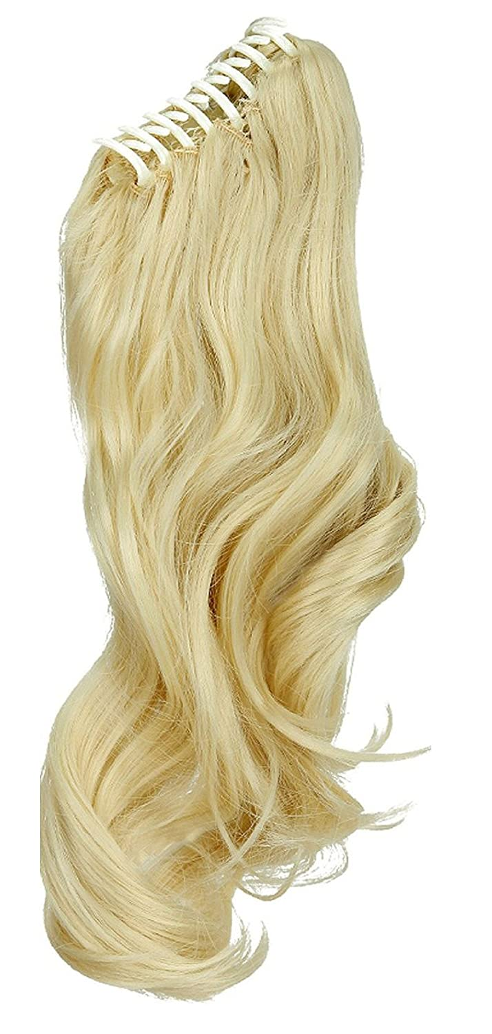 Outlet S Noilite 18 Inches Bleach Blonde Long Wave Claw Clip On