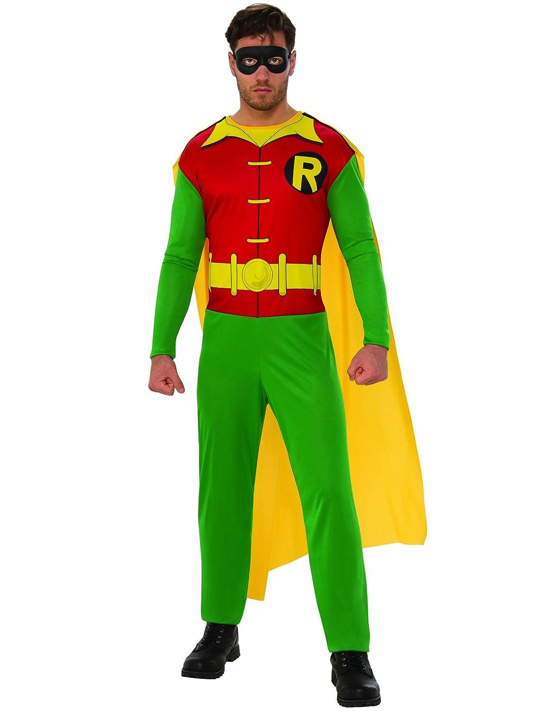 Batman - Disfraz de Robin para hombre, Talla M adulto (Rubies 820963-M)
