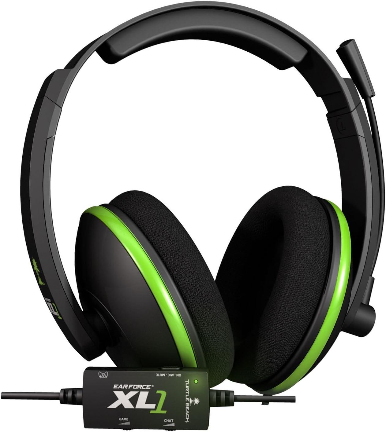 dd157ec08a3 Amazon.com: Turtle Beach - Ear Force XL1 Gaming Headset - Amplified ...