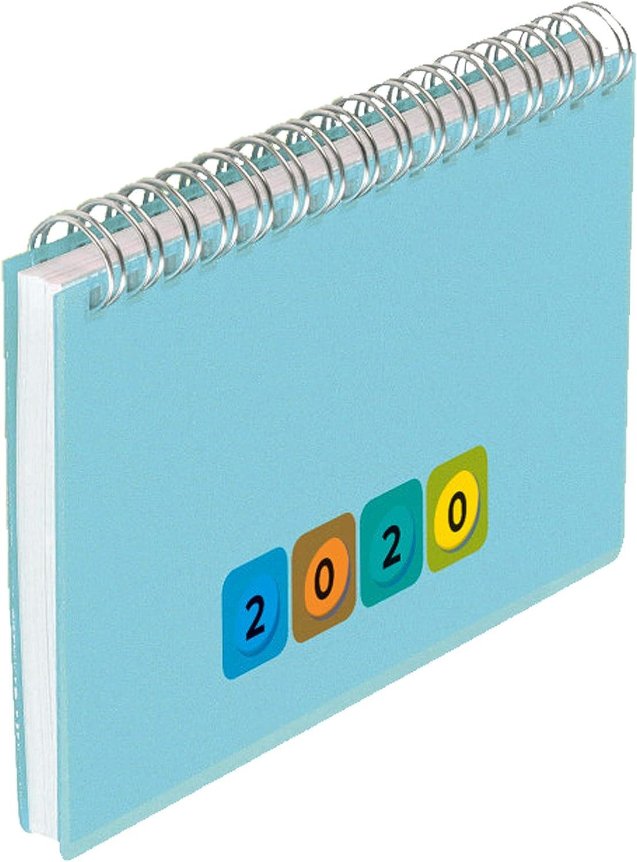 A5 Grün Herlitz Spiralkalender Kalender 2020