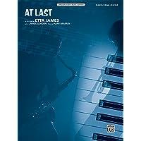 Image for At Last: Piano/Vocal/Guitar, Sheet (Original Sheet Music Edition)