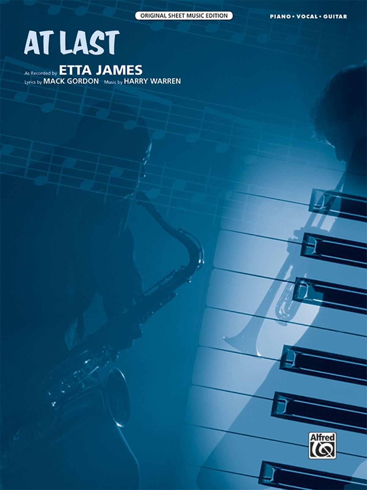 At Last Pianovocalguitar Sheet Original Sheet Music Edition