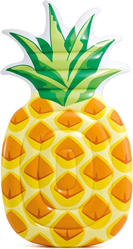 Amazon.com: Intex Pineapple - Alfombrilla hinchable 85 x 49 ...