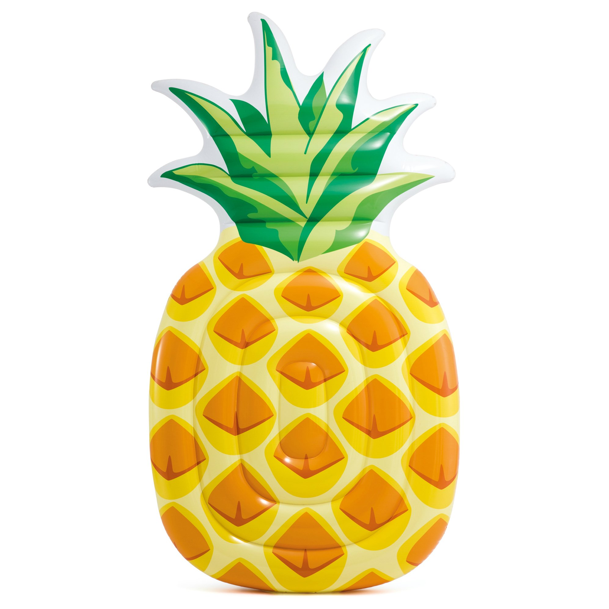 Intex Pineapple Inflatable Mat, 85'' X 49''