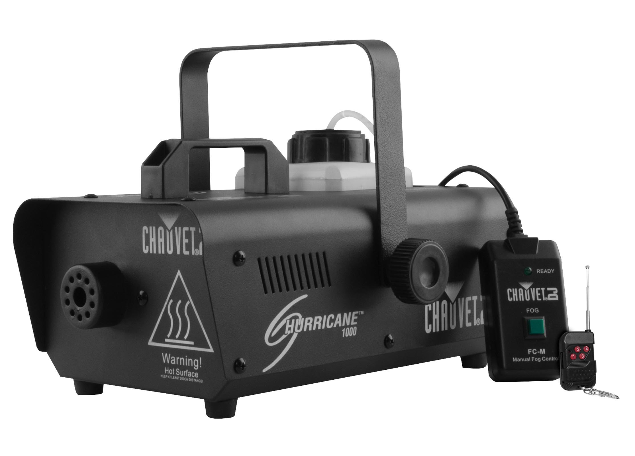 CHAUVET DJ Hurricane 1101 Fog Machine w/LED Illuminated 1.3L Tank