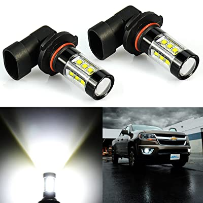 JDM ASTAR Bright White Max 80W High Power H10 9145 9140 9050 9155 LED Fog Light Bulbs: Automotive