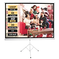 Deals on Neewer Projector Screen 4K HD 110-in w/Stand 52094280