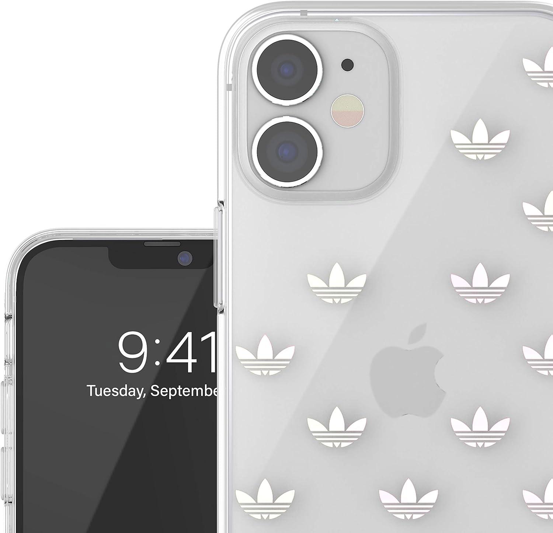 Color Negro y Blanco Bordes elevados a Prueba de ca/ídas Fundas probadas Funda dise/ñada para iPhone 12 // iPhone 12 Pro 6.1