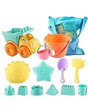 SHANNA Juguetes de Playa para niños Bebes,Set de Juguetes de Arena para Playa al