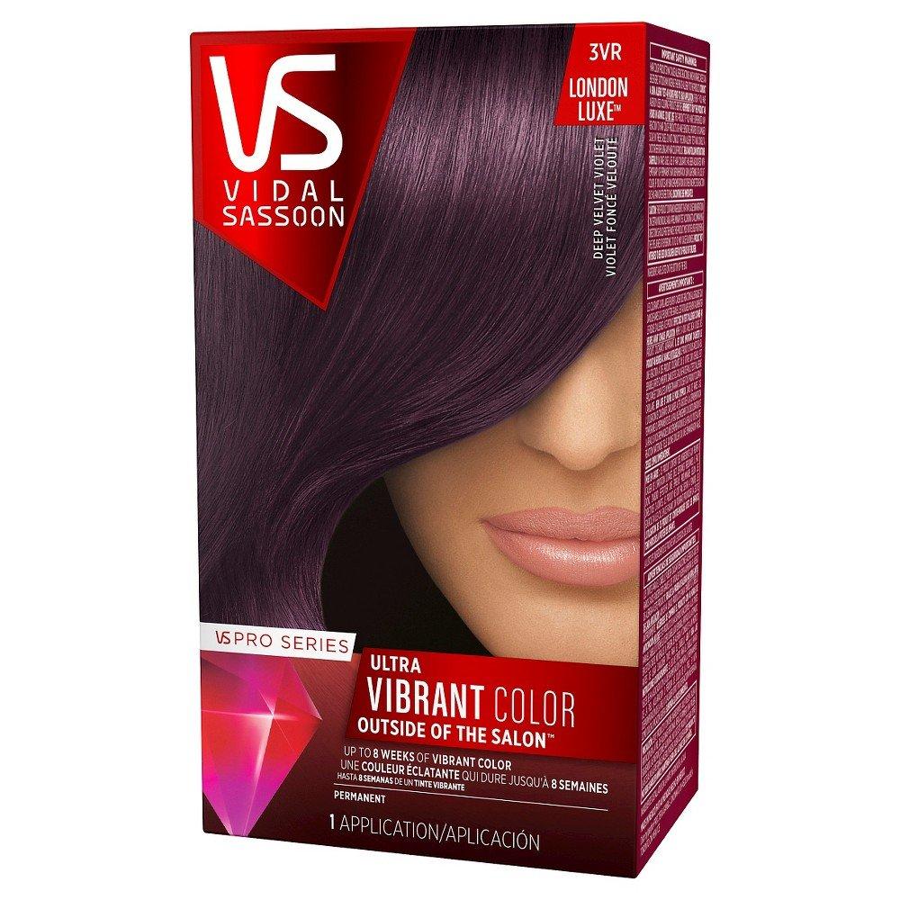 Amazon Vidal Sassoon Pro Series Ultra Vibrant Hair Color Kit