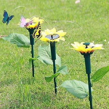 VDK Flotador de mariposa para jardín o patio, decoración de balonio: Amazon.es: Hogar