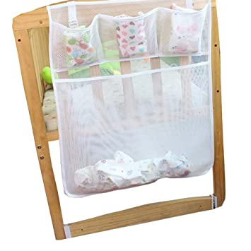 Baby Bed Hanging Diaper Storage Bag Cot Cloth Toy Tidy Organiser  sc 1 st  Amazon UK & Baby Bed Hanging Diaper Storage Bag Cot Cloth Toy Tidy Organiser ...
