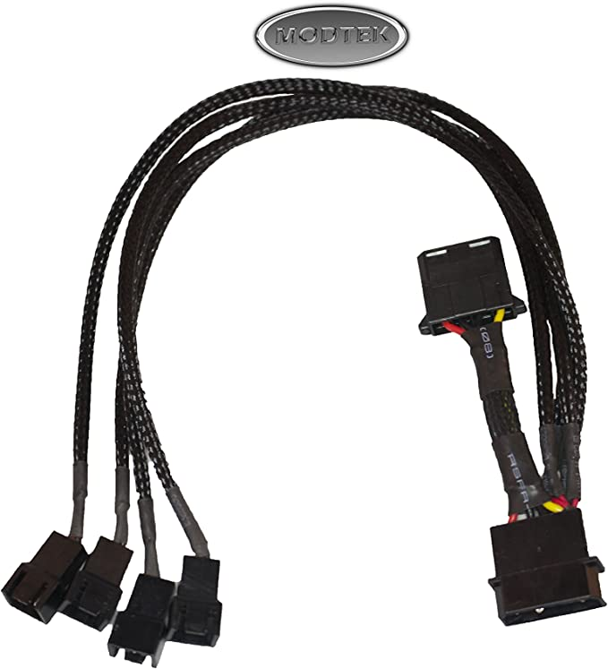 USB to Molex 4 Pin PC Computer Cooling Fan 1 Feet Connector Cable Adapter CordSP