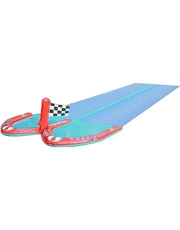 Ultrakidz - Tobogán de Agua Doble y atracción acuática con 2 carriles, Longitud 610 cm
