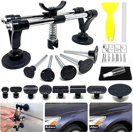 Auto Body Dent Repair Tool Kit Car Dent Repair Puller For Car Body Hail Dent Removal Paintless Dent Repair And Automobile Body Dent Removal