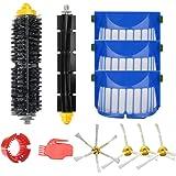 Roboter Replenishment Kit Für iRobot Roomba 600 Serie 615 650 630 620 Ersatz - Seitenbürste Filter Borstenbürste Flexible Beater Pinsel Reinigungsausrüstung (11er Pack)