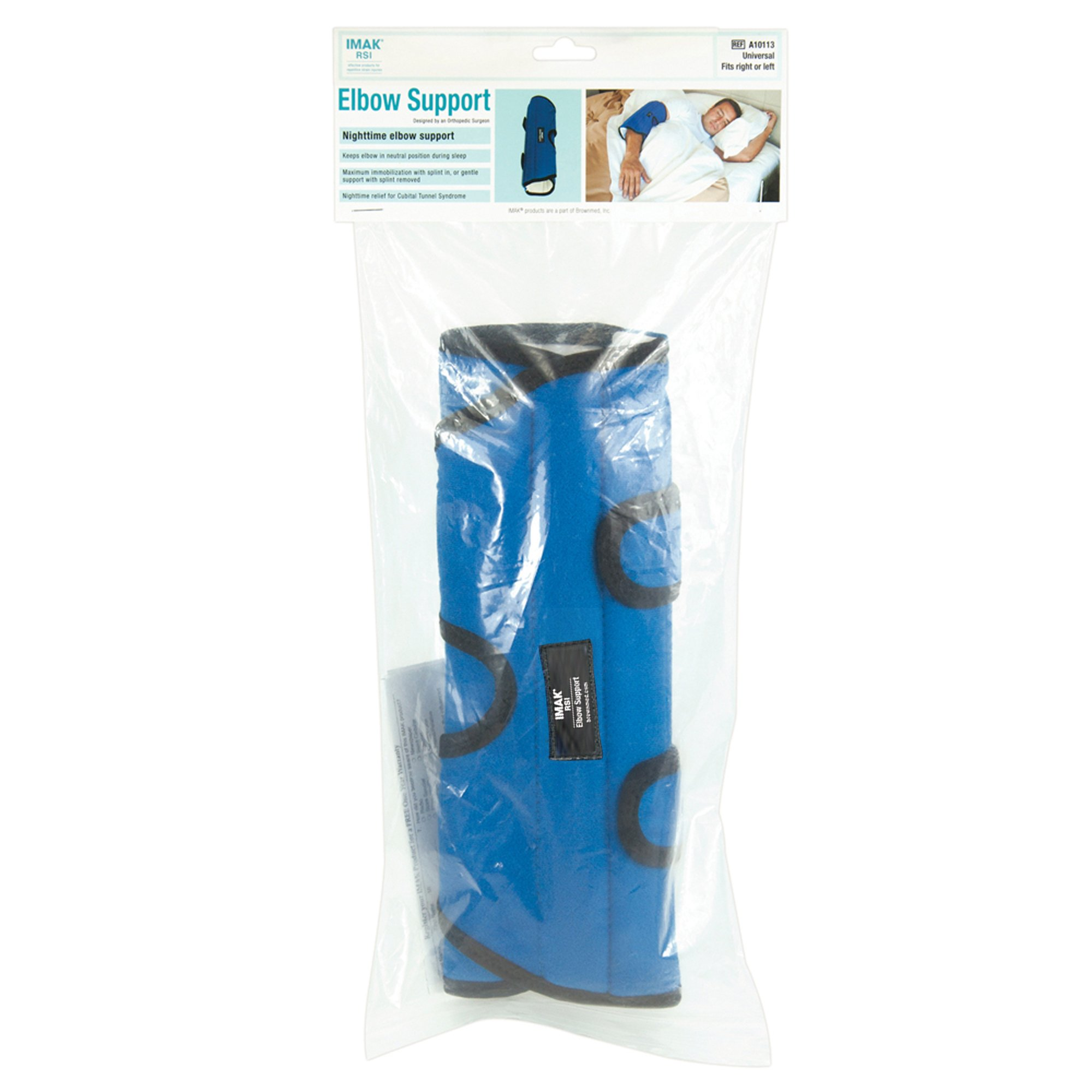 IMAK RSI Elbow Support Brace, #1 Brace for Nightime Relief of Cubital Tunnel Syndrome, XL