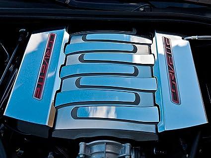2014-2019 Chevrolet C7 Corvette Genuine GM Fuel Rail Cover Set 12641720 12643709