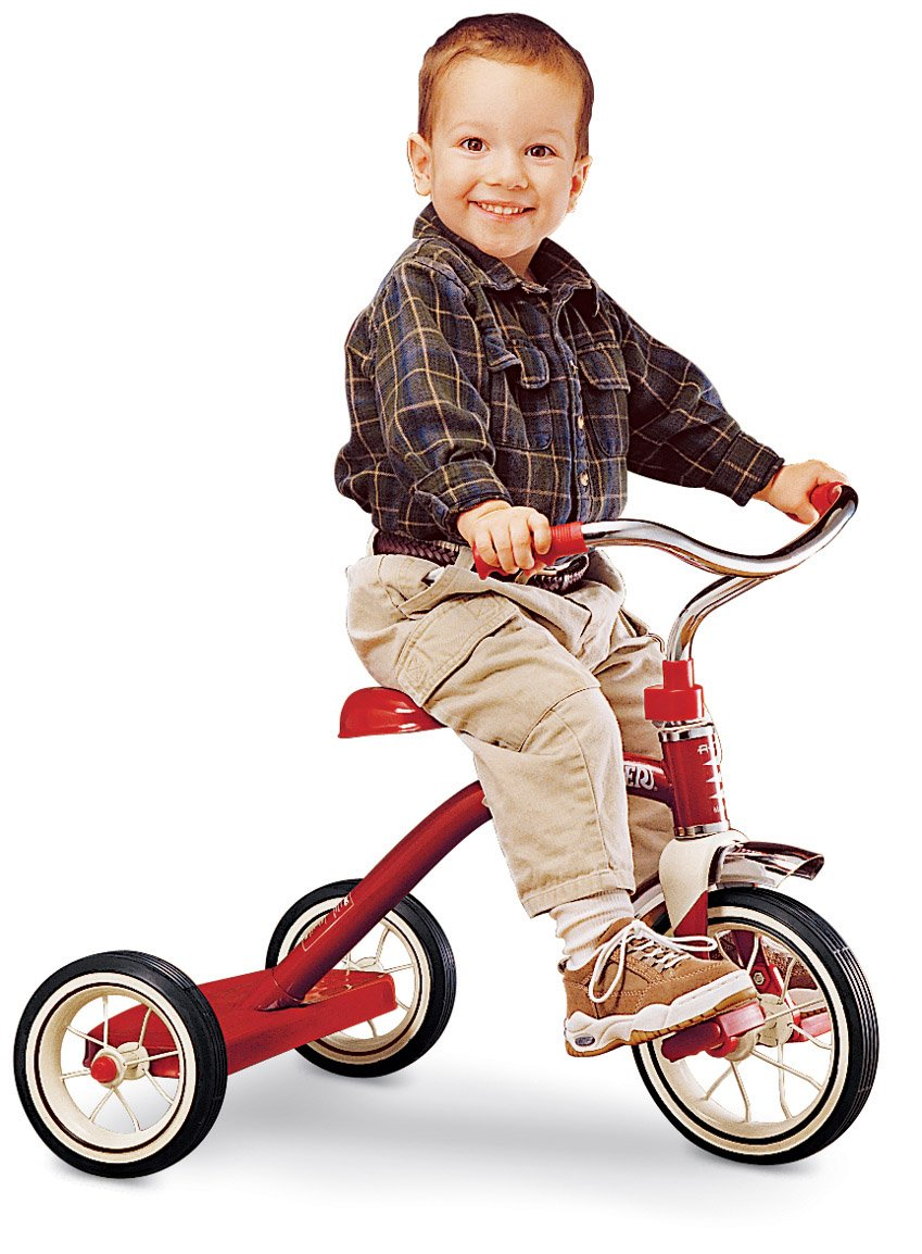 Radio Flyer Classic Red 10 - Inch Tricycle by Radio Flyer (Image #1)