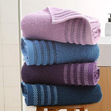 DDZ-Towel Toallas de Lujo de algodón 100% (70 x 34 cm) - Toallitas Suaves, Muy absorbentes - Accesorios de baño Classic - Calidad de Hotel: Amazon.es: Hogar