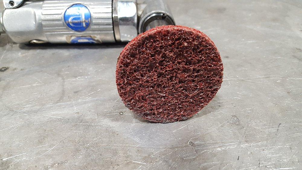 JG Pro2 Assorted Grit Quick Change Sanding Discs //// Surface Condition Discs //// For Die Grinder or Drill //// Coarse Medium Fine