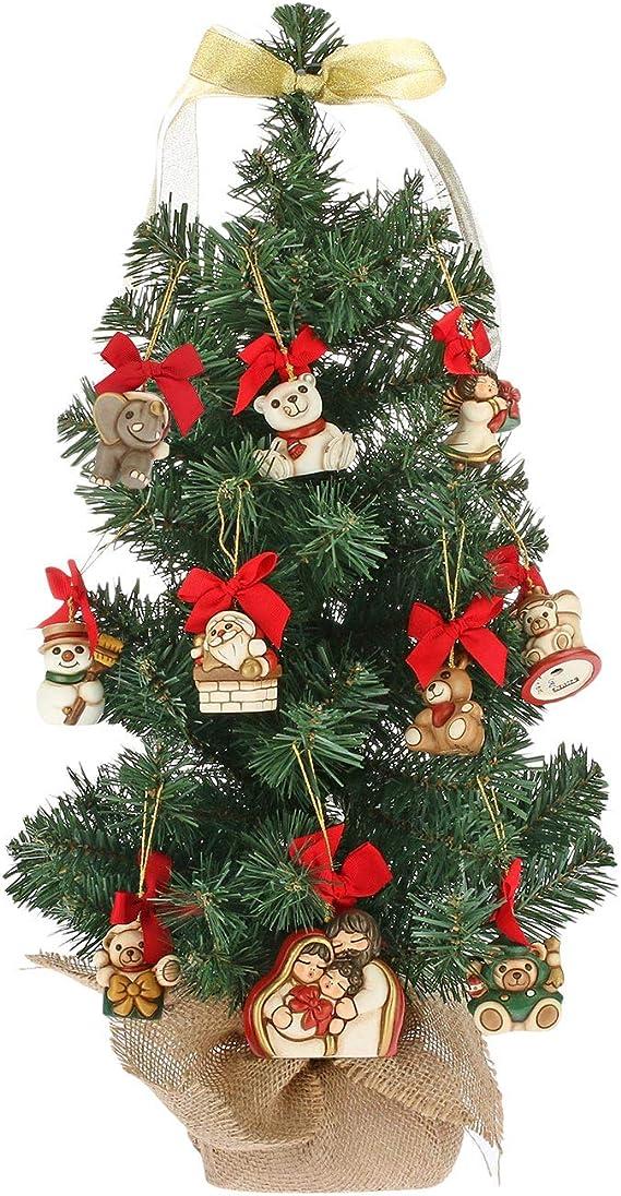 Albero Di Natale Thun Prezzo.Thun Albero Di Natale H 11 X 11 X 60 Cm Con 10 Mini Addobbi Ceramica Amazon It Casa E Cucina