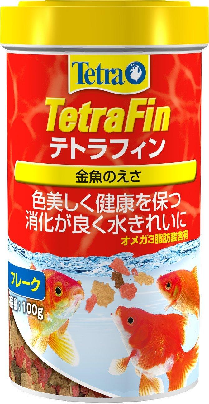 テトラ(Tetra) テトラフィン 金魚の餌 フレーク 100g