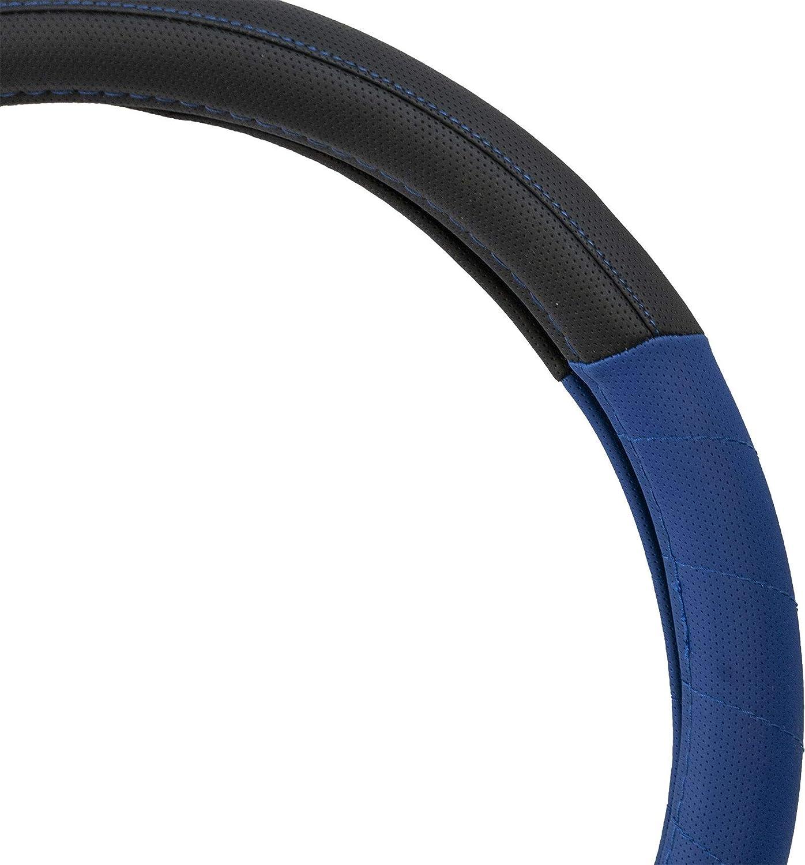 UKB4C Blue Steering Wheel /& Seat Cover set for Chevrolet Matiz 95-05