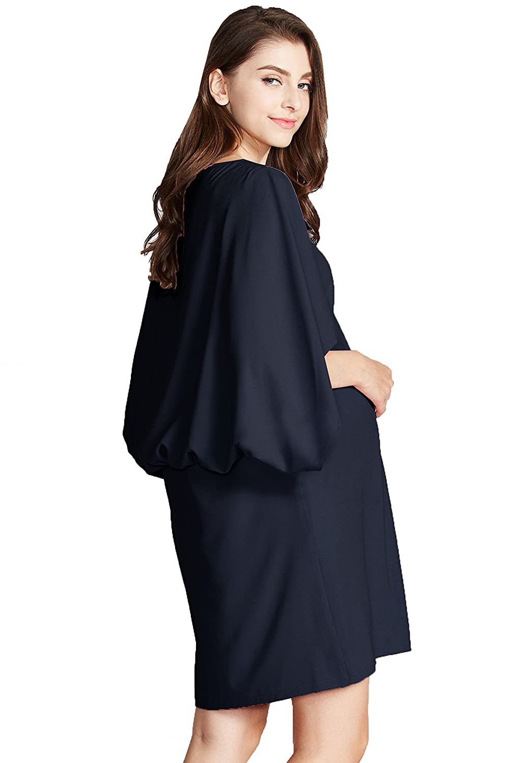 Sweet Mommy Maternity and Nursing Cape Dress Sweet Mommy Co. Ltd bo6105