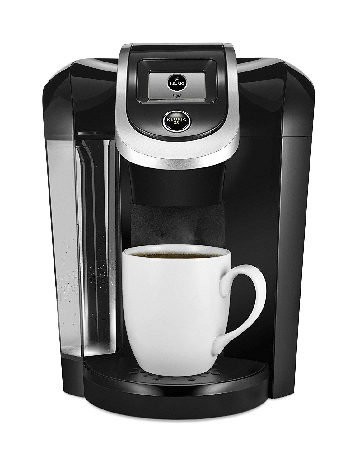 Keurig K300/K350 2.0 Coffee Maker Brewing System - Exclusive Offer Includes 2.0 Carafe and 2.0 Brewer Maintenance Accessory - Capable to Brew K-Cup and K-Carafe Pods - Black