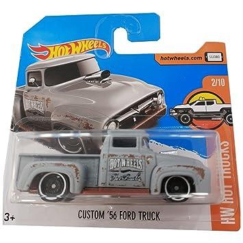 Hot Wheels Custom 56 Ford Truck Hw Hot Trucks Edition 2018 2 10